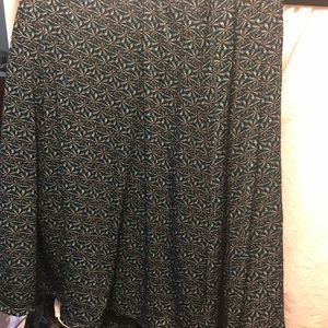 LuLaRoe Maxi skirt, large, NWT
