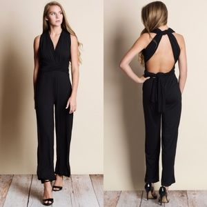 Multiwear Black Jumpsuit