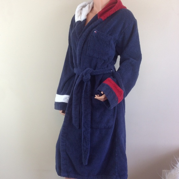 Cotton Towelling Bathrobe L - Sales Up to -50% Tommy Hilfiger Find Great Sale Online Discount Codes Really Cheap Free Shipping Shop For Amazon Sale Eastbay Nmi9Zz