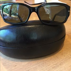 Persol (Italy) polarized sunglasses, rectangle