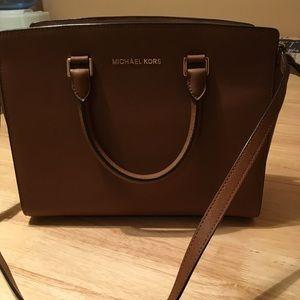 Michael Kors authentic Selma large satchel
