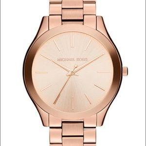 Michael Kors Slim Runway Watch - Rose Gold