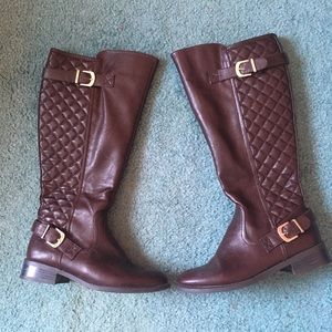 Quilted Boots