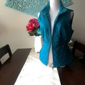 Turquoise Talbots Vest