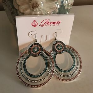 NWT Premier Jewelry sorbet earrings! Cute!!