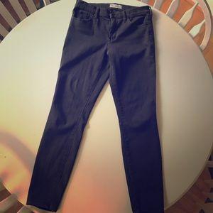 Madewell High-Rise Skinny Skinny Sateen Jeans