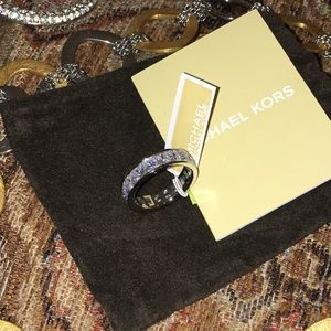 Michael Kors Luxury White CZ Eternity Ring