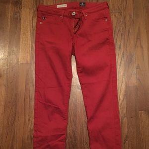 Anthropologie AG Stevie Ankle Jeans