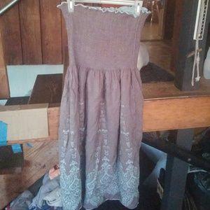 Dresses & Skirts - Tagless Tube Top Maxi Dress