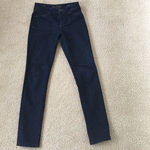 DL1961 Nina high rise skinny jeans size 26