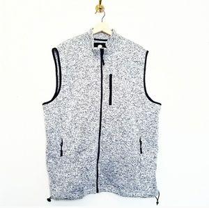 Ocean and Coast Knit Fleece Full Zip Vest