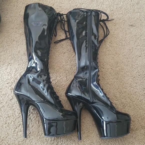 f9f5379ed83a Pleaser Adore 2023 Knee high boots. M 59c92e30bcd4a72f400773a9