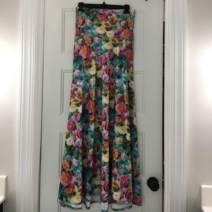 Gorgeous Floral Lularoe Maxi Skirt