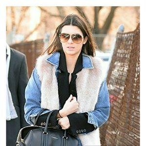 Kendall Jenner inspired fur gilet