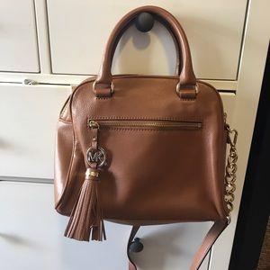 Michael Kors Medium Satchel - luggage leather