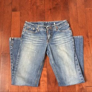 CLOSET CLOSING Lucky Brand Dungarees Flared Jeans