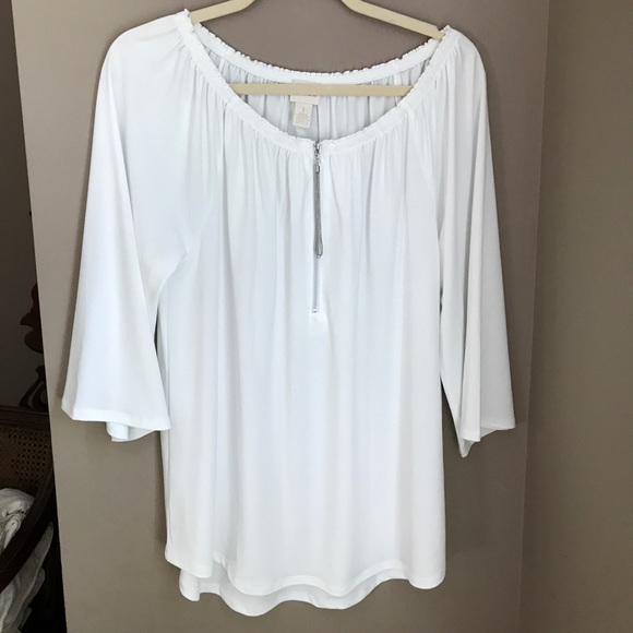 1316357579d4f White Chico s off the shoulder blouse