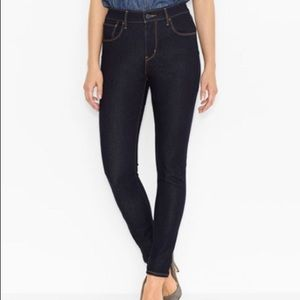 Levi's High Rise Skinny Jeans Size 25