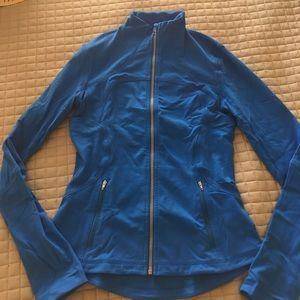 Lululemon Blue define jacket.
