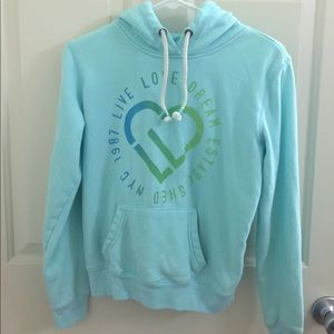 Sweater teal color