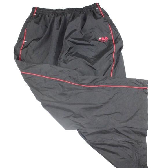 Vintage 90s Fila Spell Out Bjorn Borg Tennis Pants
