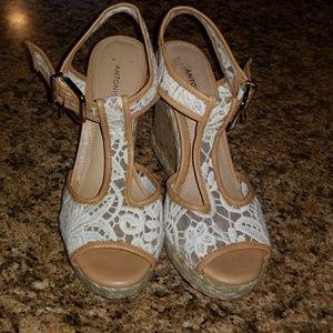Shoes - Antonio Melani Lace Wedges