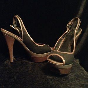 Vince Camuto sling back heels