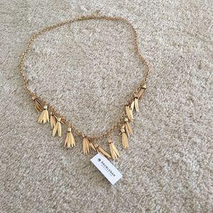 Baublebar long fringe necklace (gold)