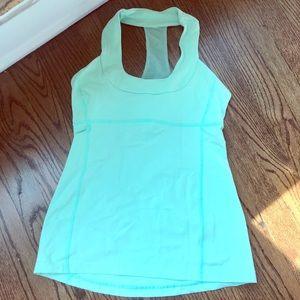 Mint Green lululemon workout tank!