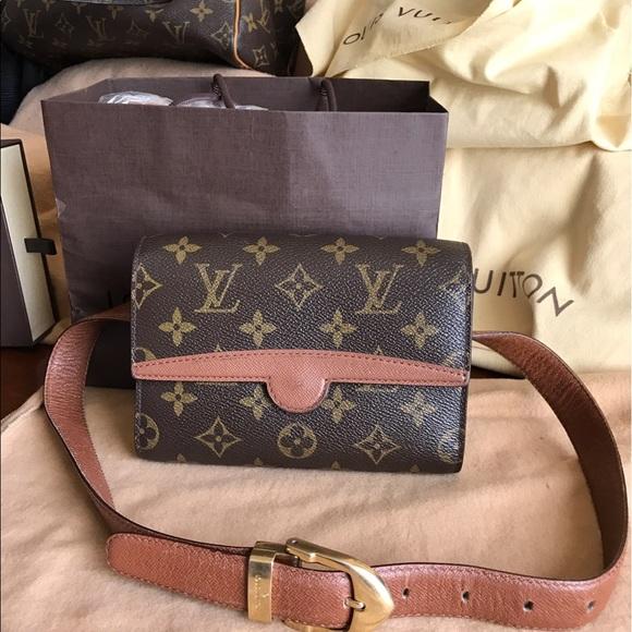 5ec97311d3f3 Louis Vuitton Handbags - Louis Vuitton Vintage fanny pack. Authentic