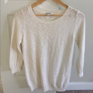 Old navy sweater off white