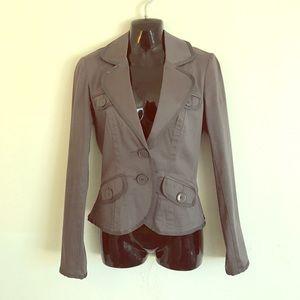 H&M grey Blazer! NWOT size 4. Tailored beautifully