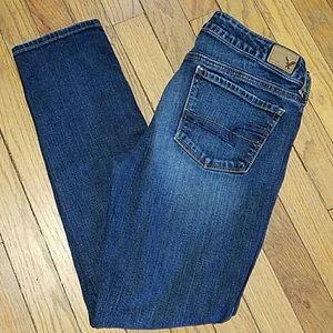American eagle jeans 8 short