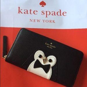 ISO Kate Spade Penguin wallet