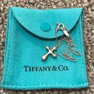 Authentic Tiffany & Co. Cross Necklace