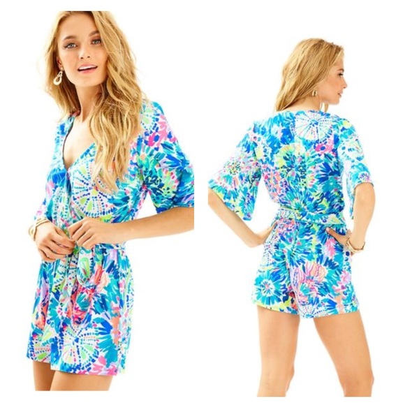 253601f7d5e4 Lilly Pulitzer  Madilyn Romper  -NWT- Size M