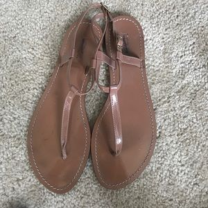J. Crew nude thing sandals size 9