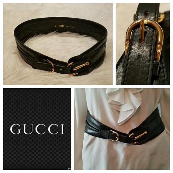 11e97763dc5 Gucci Accessories - Authentic Vintage 80s GUCCI Corset Horsebit Belt