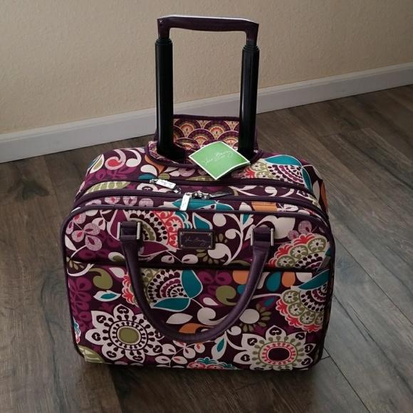 da2fdb65c Vera Bradley Bags   Rolling Work Bag   Poshmark