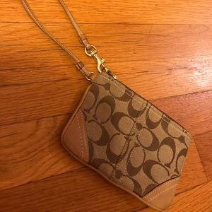 Coach Wristlet - Brown