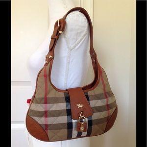 NWOT Burberry hobo bag