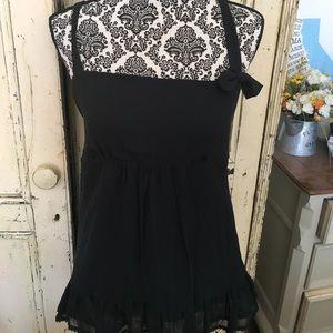 NWT Juicy Couture size Large chiffon Silk shirt