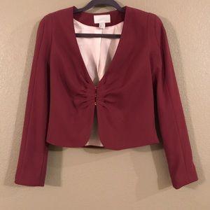 Burgandy blazer