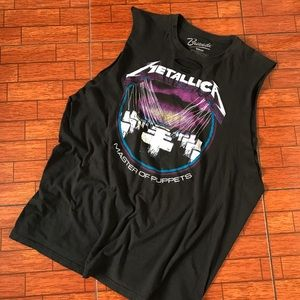 Metallica Master Of Puppets Distressed Tank