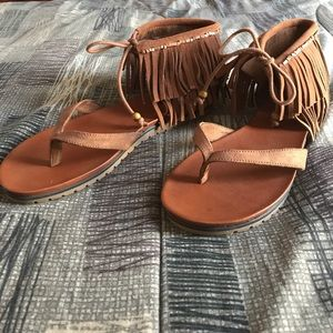 MIA sandals.