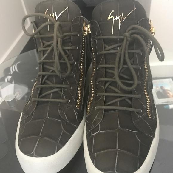 082bf4fbf5aaa Giuseppe Zanotti Shoes | Mens Kris Green | Poshmark