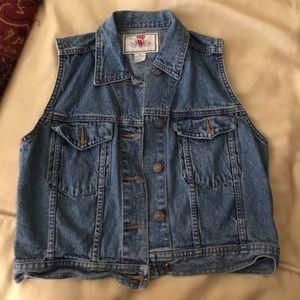 Vintage Levi's Jean vest 🌻