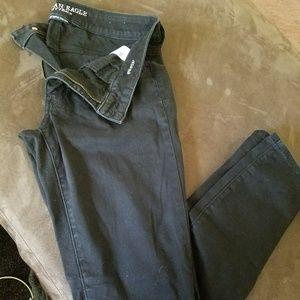 Black American eagle jeans jeggings