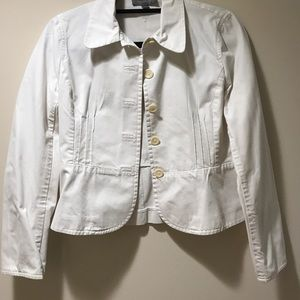 Ann Taylor Off-White Jacket Size 2