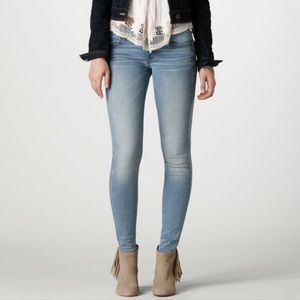 American Eagle Jeggings Skinny Stretch Jeans Light